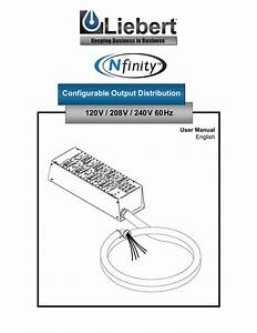 Configurable Output Distribution 120v    208v    240v 60hz