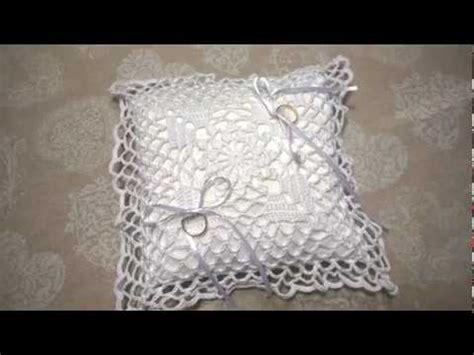 cuscino fai da te cuscino portafedi all uncinetto