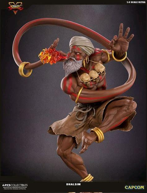 Street Fighter V Dhalsim 14 Scale Statue Ikon