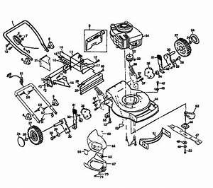 Craftsman Electric Walk Behind Lawnmower Parts