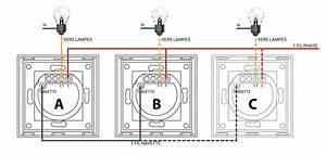Schema Electrique Va Et Vient 3 Interrupteurs : symboles sur un iinterrupteur va et vient lumtouch tactile ~ Medecine-chirurgie-esthetiques.com Avis de Voitures