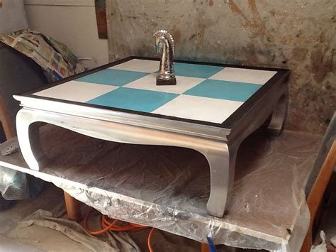 A french press, also known as a press pot, coffee press, coffee plunger, cafetière (uk) or cafetière à piston, is a coffee brewing device patented by italian designer attilio calimani in 1929. Tiffany Blue & White checkered solid oak coffee table. $200 obo Text or call (714)353-6686 Email ...