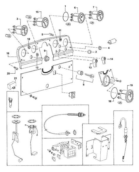 Mahindra 4110 Wiring Diagram by Switches Wiring Knobs Dash Items For E 350