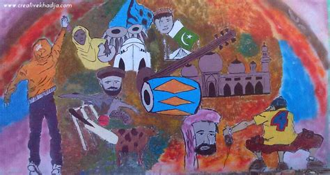 They are required for ornating purposes. Street Graffiti Art Pakistan-2