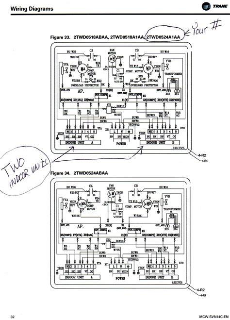 trane xl80 gas furnace wiring diagram get free image