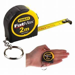 Stanley FatMax 1-33-856 Mini Key Ring Metric Tape Measure ...