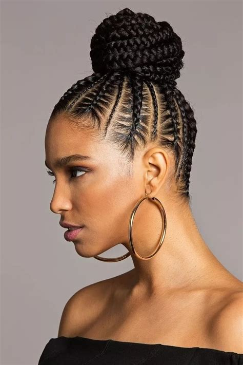 Easy Cornrow Hairstyles by 20 Best Cornrow Braid Hairstyles For Black With An