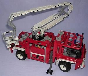 Lego Technic Camion : review lego technic 8289 camion de pompiers ~ Nature-et-papiers.com Idées de Décoration