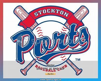Baseball Ports Stockton League Sports Cricut Sportslogos