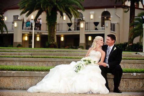 Hollis Gardens stairs behind Magnolia Building Bridal