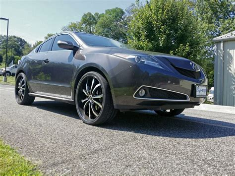 Acura Zdx Custom Wheels Lexani Lust 24x9.0, Et , Tire Size