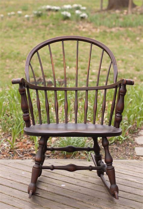 vintage 1930 nichols stone windsor rocking rocker chair
