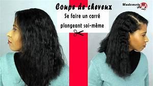 Comment Se Couper Les Cheveux Court Toute Seule : coupe de cheveux r aliser un carr plongeant soi m me ~ Melissatoandfro.com Idées de Décoration