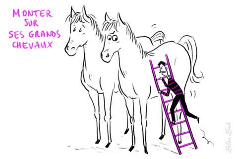 monter sur ses grands chevaux s emporter le prendre de haut photo 2009 zonk