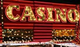 Casino neon lights editorial photo Image of lifestyle