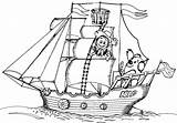 Coloring Boat Pages Coloringpages1001 sketch template