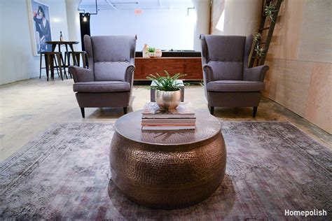 The Lounge Room At Gilt's New York Office By Homepolish