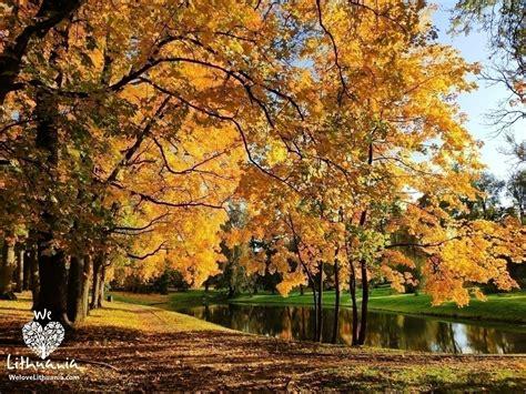Rudens peizažas   We love Lithuania