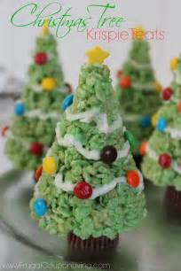 Rice Krispie Christmas Trees by Christmas Tree Rice Krispie Treats With Molding Tip