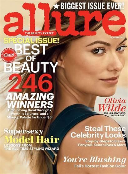 Allure Magazine Wilde Olivia Covers Beauty October
