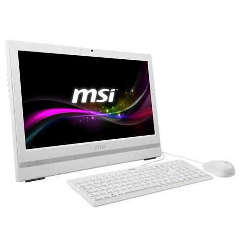 ordinateur de bureau blanc msi ap200 208xeu blanc pc de bureau msi sur ldlc