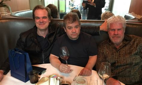 patton oswalt hellboy patton oswalt in a hellboy sandwhich film dumpster