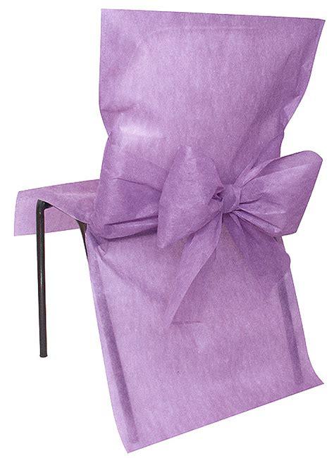4 housses de chaise intiss 233 avec noeud d 233 coration de table