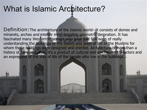 Definition Architecture by Islamic Architecture By Danilo And Yusir