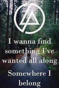 Linkin Park Lyrics On Tumblr