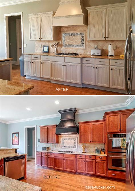 painted kitchens before and after painted cabinets nashville tn before and after photos 129 | levin before and after