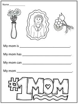 mothers day writing activities  christian learning