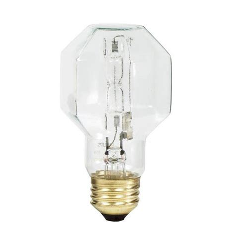 philips 40w 120v cp19 2900k e26 clear halogen decorative