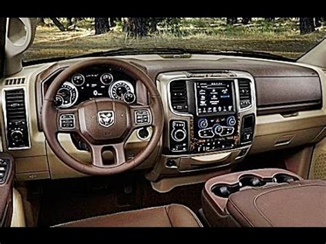 2016 DODGE RAM 2500 INTERIOR REVIEW   YouTube