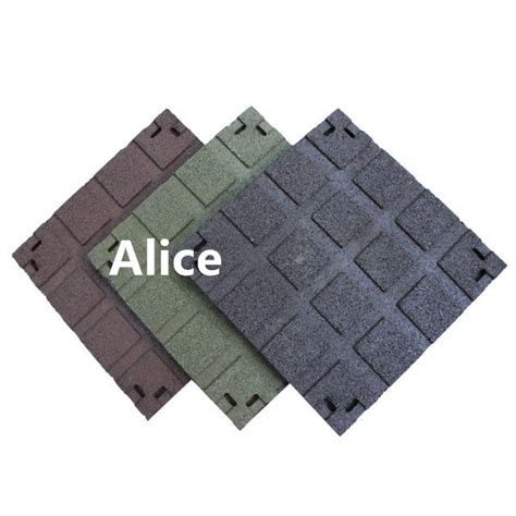recycled rubber tire tiles anti slip recycle rubber tile
