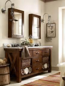Shabby Chic Double Bathroom Vanity 32 trendy and chic industrial bathroom vanity ideas digsdigs