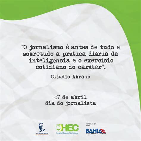 Blog Demais: Dia do Jornalista