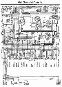 Electrical Wiring Diagram For 1960 Chevrolet Corvette
