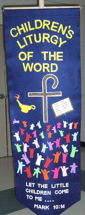 childrens liturgy   word banner sunday school