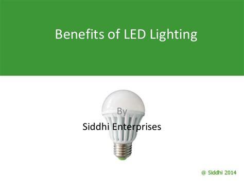 benefits of led lights