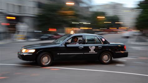 D.c. Taxi Drivers Gridlock Downtown To Protest Uber And Lyft