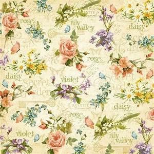 Papier Peint Fleuri : papier peint fleuri papier peint pinterest papier ~ Premium-room.com Idées de Décoration