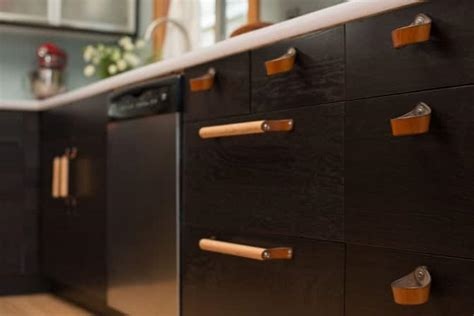 leather kitchen cabinet pull angies list