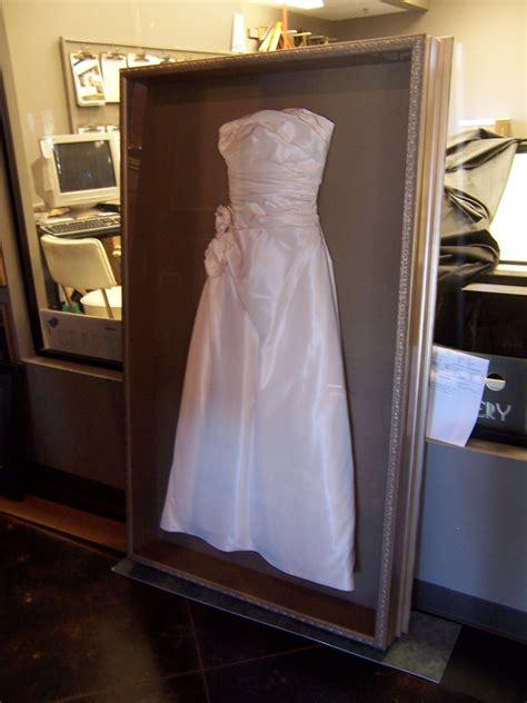 wedding dress in a box shadow box for wedding