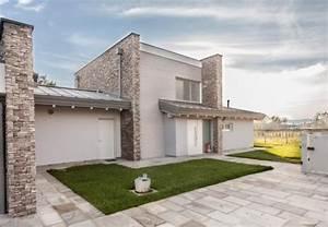 Casa, In, Legno, Modello, Bergamo, Di, Design, Haus, Italia
