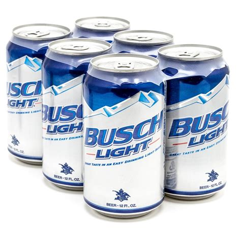 12 pack busch light busch light beer 12oz can 6 pack beer wine and