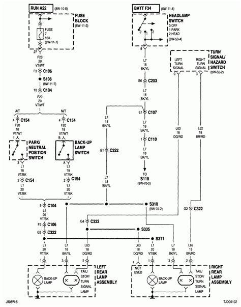 jeep wrangler light wiring new wiring diagram image