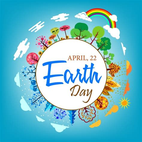 earth day clip art  vector