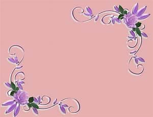 Purple Corner Borders | www.imgkid.com - The Image Kid Has It!