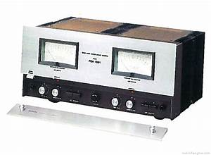 Denon Poa-1001 - Manual - Stereo Power Amplifier