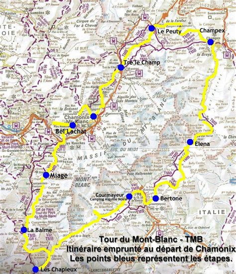 tour du mont blanc itineraire randonn 233 e trek et photos sur le tmb tour du mont blanc